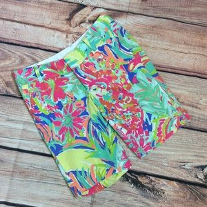 Lilly Pulitzer Chipper Short Size 00 Casa Banana